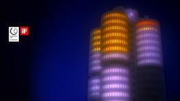 Lichtkunst BMW München
