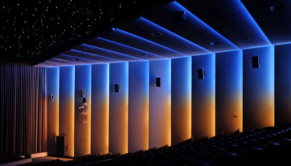 Lichtdesign und Lichtplanung Kino