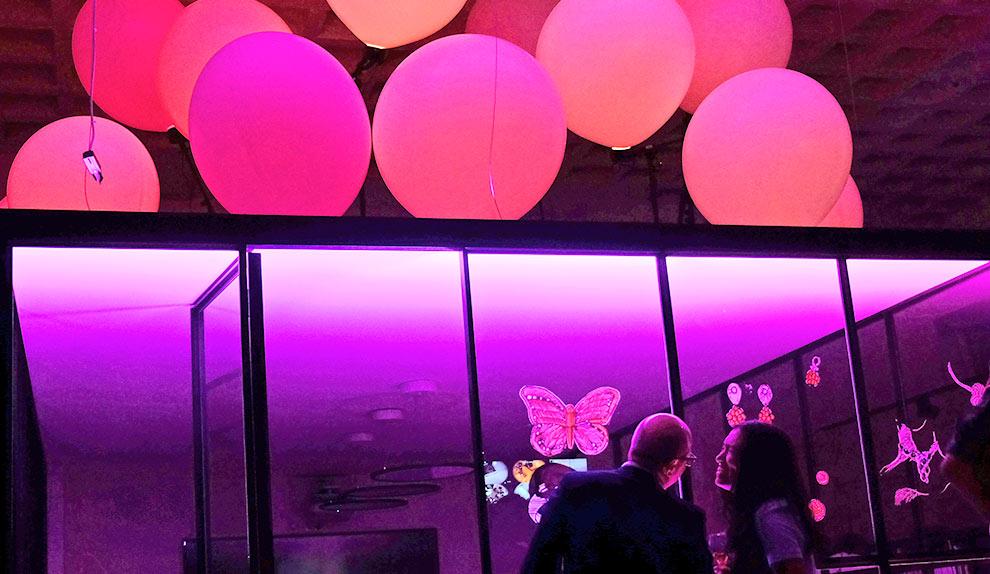 Lichtinstallation und Lichtkunst | mbeam