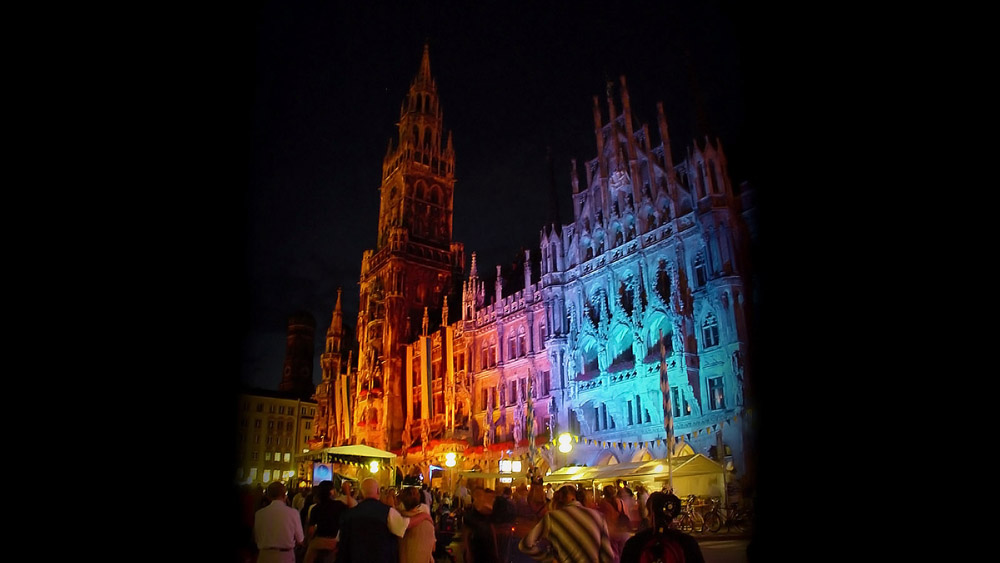 Lichtinstallation und Lichtkunst München