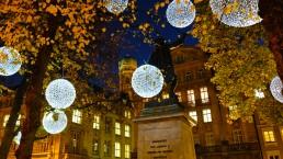 Lichtdesign und lichtkunst am Münchner Promenadeplatz