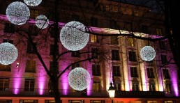 lighting art installation munich