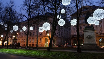 light art installation germany
