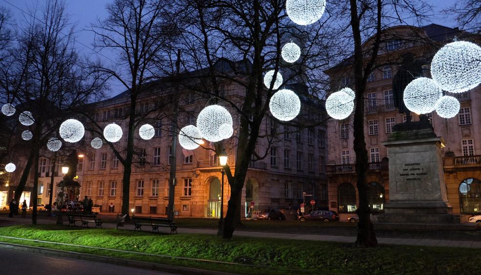 light art installation germany