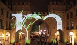 Lichtkunst für Bayern