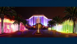 Light art Project for the Ritz Carlton Hotel