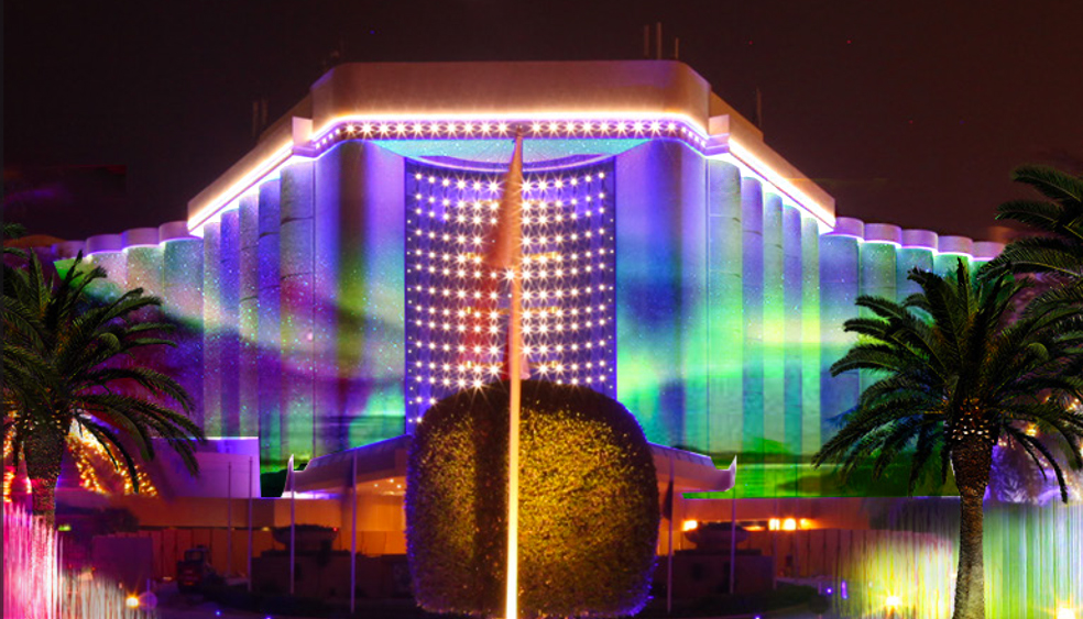 lightkunst projekt für das Ritz Carlton Bahrain