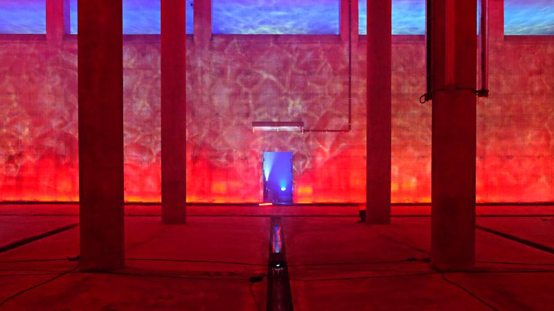 mbeam - Lichtinstallation - Künstler