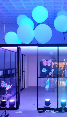 mbeam Lichtinstallationen und Licht-Kunst aus München