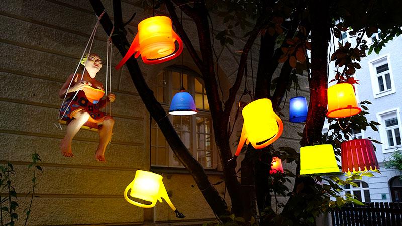 Lichtdesign München mbeam renommiertes atelier für lichtkunst lichtinstallation und
