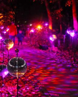 Lichtkunst - Lichtlauf für EON