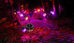 Lichtkunst und Lichtinstallation - mbeam, munich