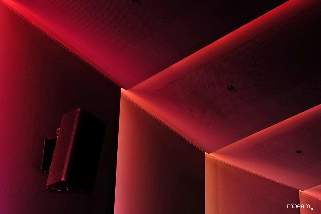 Lichtdesign München immersive light concept for m k6 mathäser filmpalast munich