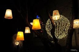 Lichtinstallation und Lichtkunst