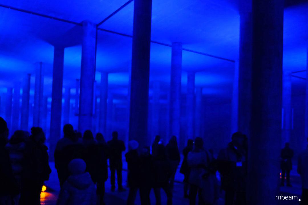 Lichtinstallation Lichtkunst Munich