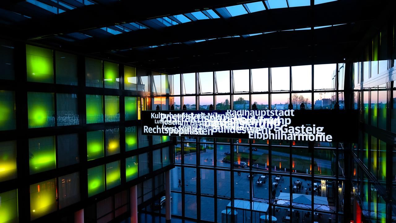 Renommiertes Lichtkünstler Studio