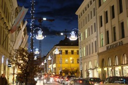 exclusive lighting art installation, Christmas Germany