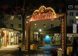Weihnachtsbeleuchtung für Viktualienmarkt München