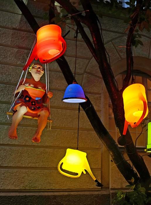 Lichtkunst - Lichtinstallation - mbeam, munich