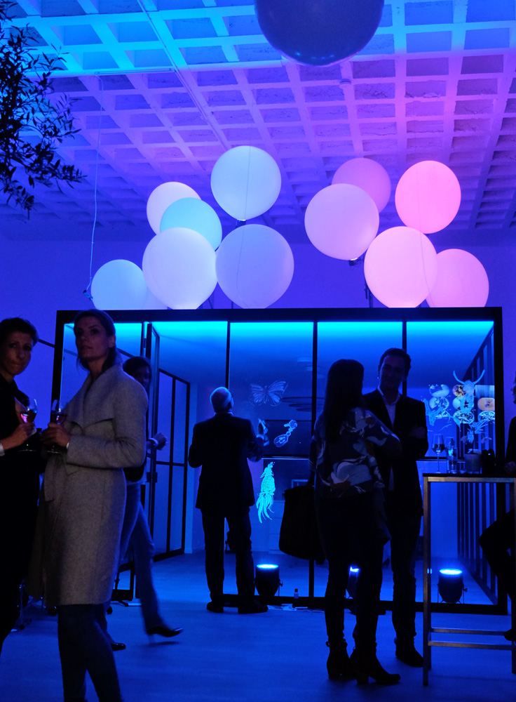 Lichtinstallation Künstler