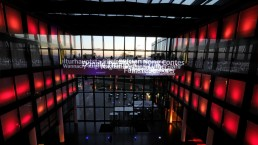 Lichtinstallation Süddeutsche Zeitung München