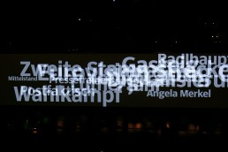 Projection - Mapping - Light art installation