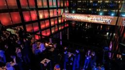 Beeindruckende Lichtinstallation für die Süddeutsche Zeitung