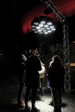 Lichtkunst und Lichtinstallation