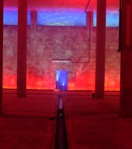 Grupo de artistas - instalacion luminosa - alemania