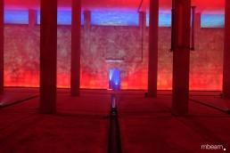 Licht-Kunst-Installation
