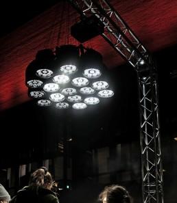 Lichtinstallation Kunst