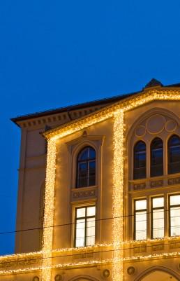 Weihnachtsbeleuchtung München, Maximilanstrasse
