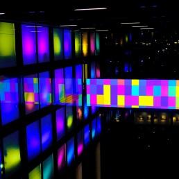 Szenografie - immersive Lichtinstallation
