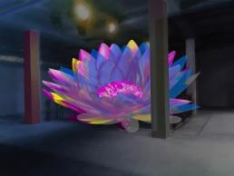 Lichtkunst für Räume und Gebäude