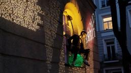 Lichtinstallation & Lichtkunst im Garten