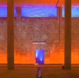 Lichttauchgang: Lichtinstallation u. Szenografie