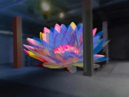 Lichtinstallation u. Lichtkunst für Fassaden und Shops