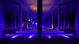 Lichtkünstler Manfred Beck, Studio mbeam