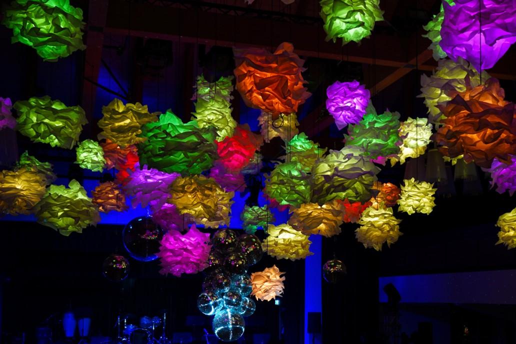Permanente Lichtinszenierung für Festsaal