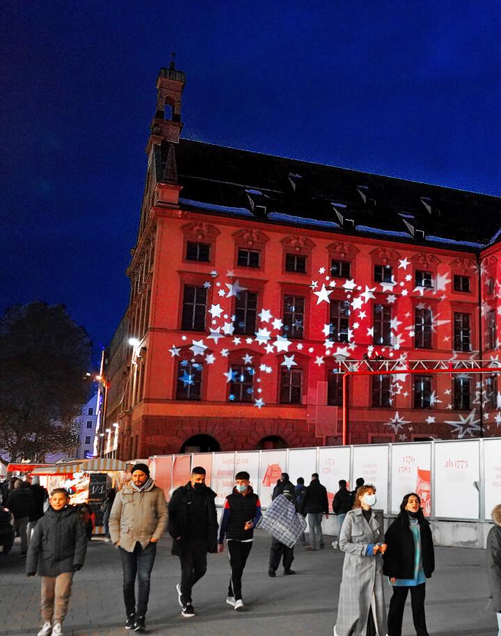 Exklusive Lichtinstallation - München