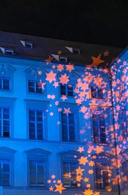 Projektion / Lichtinstallation München