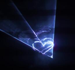 Kunst - Licht -Installation