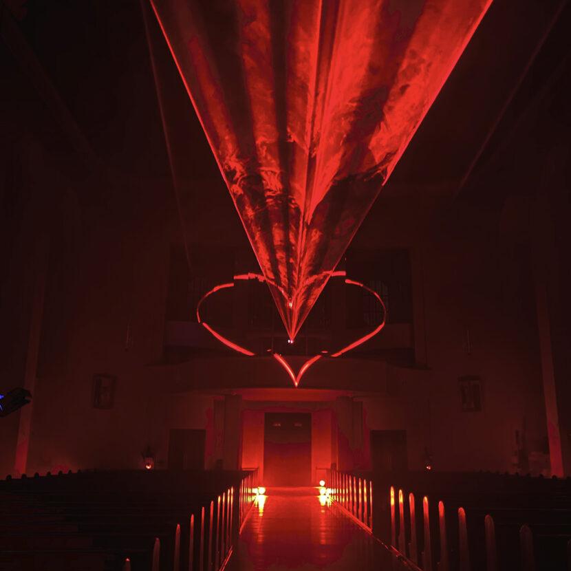 Lichtinszenierung - Kunst - Installation