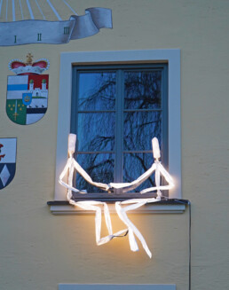 Kunst am Bau - studio für Lichtkunst
