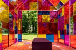 Farbenfrohes »LichtHaus« im Park