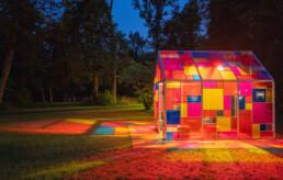 Lichtkunst - Lichthaus in Ismaning