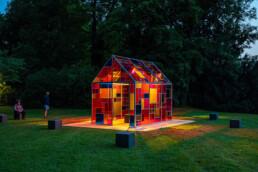 Lichtkunstprojekte im urbanen Raum