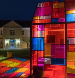 Lichtkunst aus München - mbeam